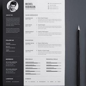 CV skabeloner